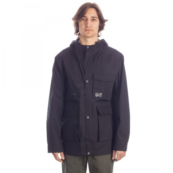 Garbstore Laser Cut Seam Welded MP Parka (Black)