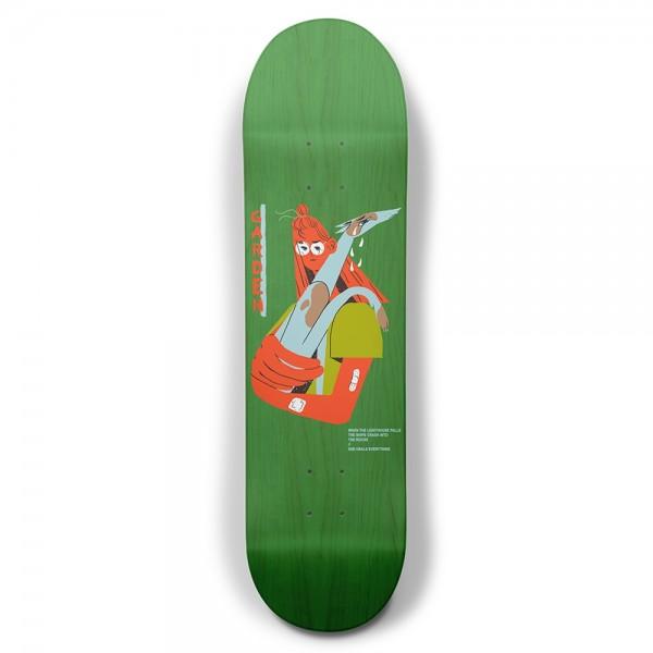 "Garden Skateboards Limited Alan Skateboard Deck 8.25"""
