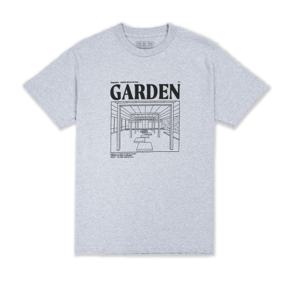 Garden Skateboards Limited Reflection Pool T-Shirt (Grey)