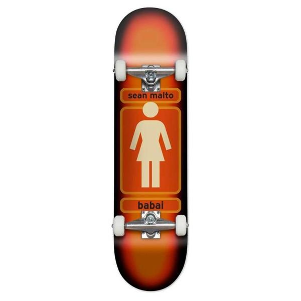 "Girl Skateboard Co. 93 Til Sean Malto Complete Skateboard 7.75"""