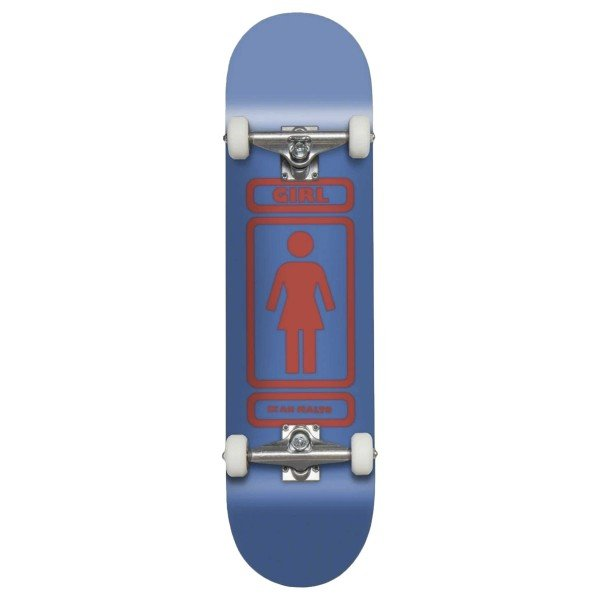 "Girl Skateboard Co. 93 Til W40 V2 Sean Malto Complete Skateboard 7.75"""