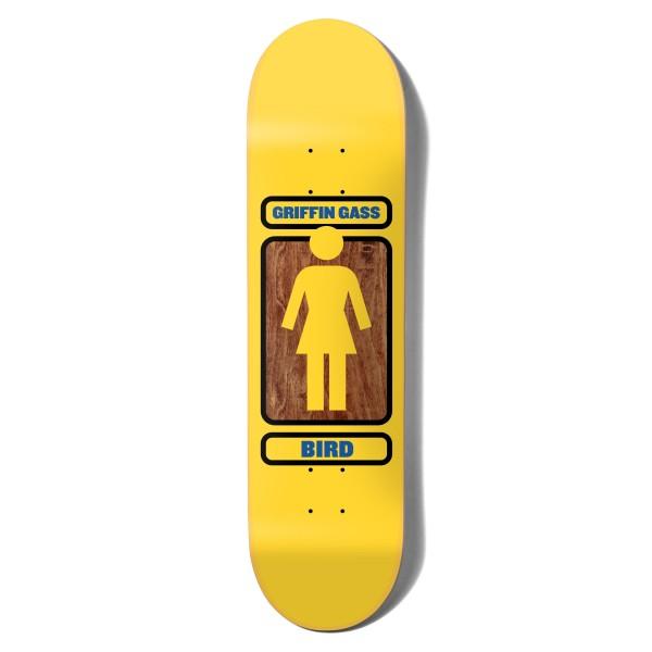 "Girl Skateboard Co. Griffin Gass 93 Til W41 Skateboard Deck 8.0"""