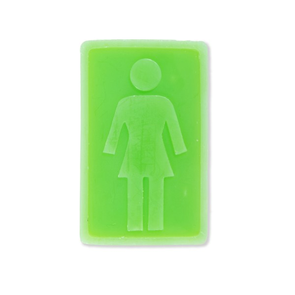Girl Skateboard Co. OG Skateboard Wax Bar (Green)