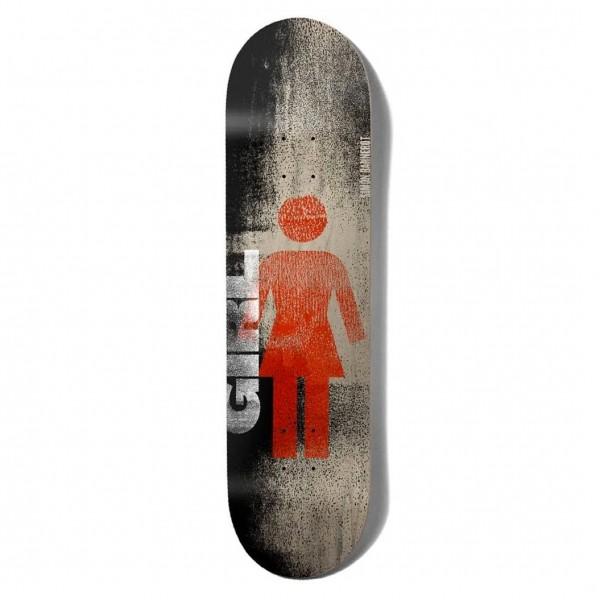 """Girl Skateboard Co. Roller OG Simon Bannerot Skateboard Deck 8.0"""""""