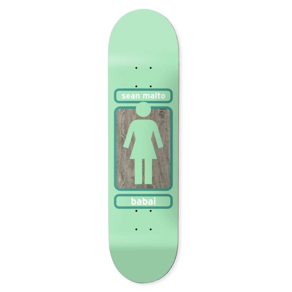 "Girl Skateboard Co. Sean Malto 93 Til W41 Skateboard Deck 7.75"""