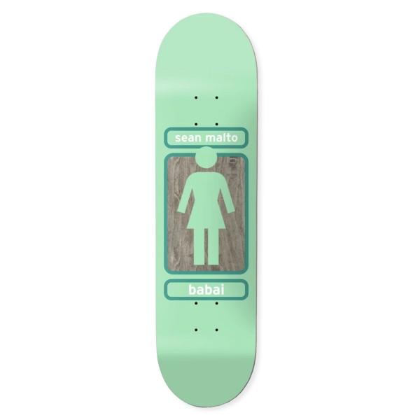 "Girl Skateboard Co. Sean Malto 93 Til W41 Skateboard Deck 8.0"""