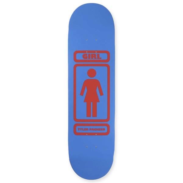 """Girl Skateboard Co. Tyler Pacheco 93 Til Infinity W40 V2 Skateboard Deck 8.375"""""""