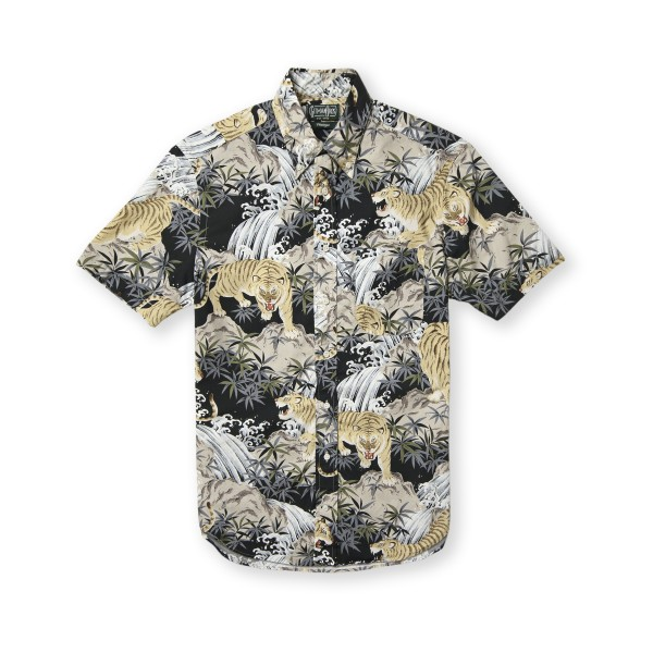 Gitman Vintage Tora Tiger Shirt (Multi)