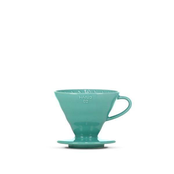 Hario V60 Ceramic Dripper 02 (Turquoise)