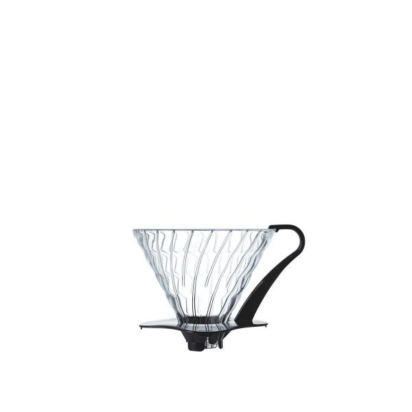 Hario V60 Glass Coffee Dripper 03 (Black)