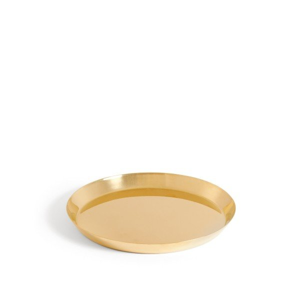 HAY Botanical Family Saucer Large (Brass)