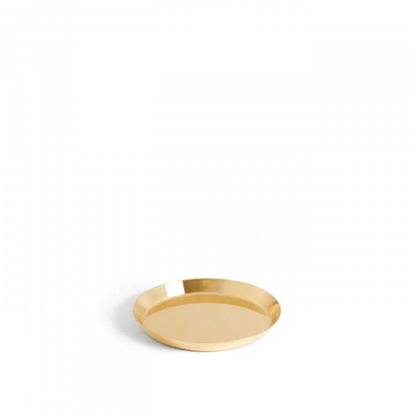 HAY Botanical Family Saucer Medium (Brass)
