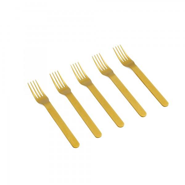 HAY Everyday Fork Set of 5 (Golden)