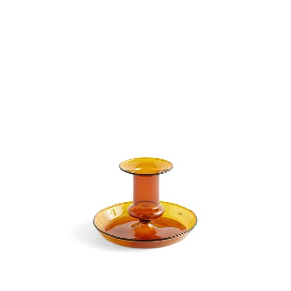 HAY Flare Candleholder (Amber)