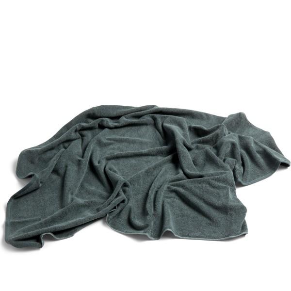 HAY Frotté Bath Towel (Dark Green)