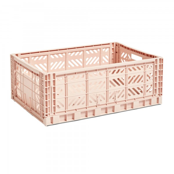 HAY Large Colour Crate (Soft Pink)