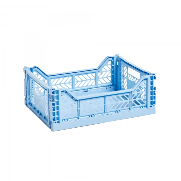 HAY Medium Colour Crate (Light Blue)