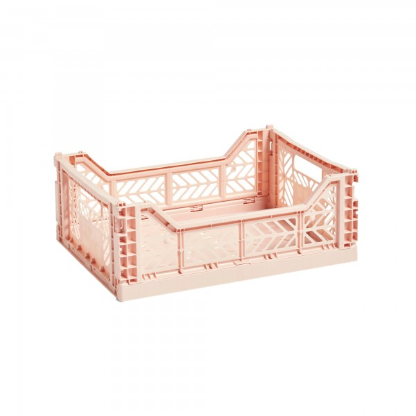 HAY Medium Colour Crate (Soft Pink)
