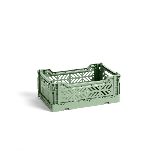 HAY Small Colour Crate (Dusty Green)