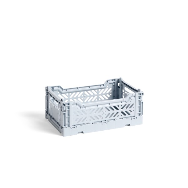 HAY Small Colour Crate (Ice Blue)