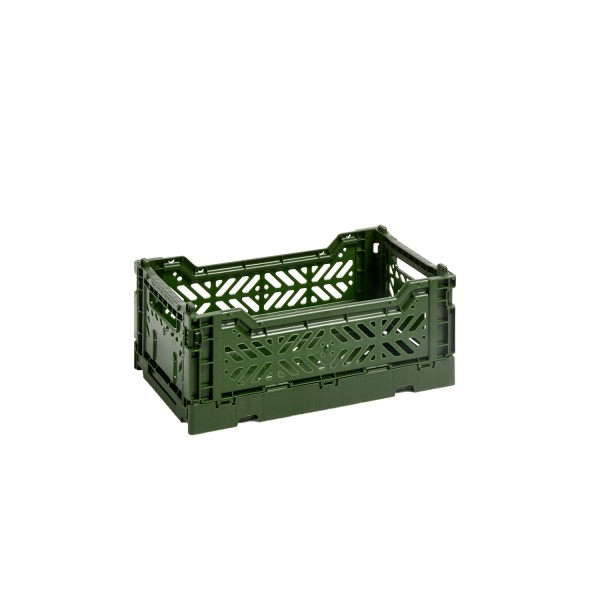 HAY Small Colour Crate (Khaki)