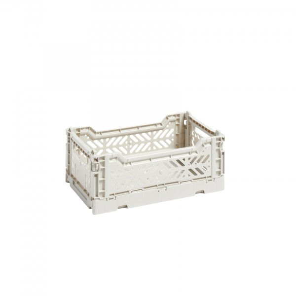 HAY Small Colour Crate (Light Grey)