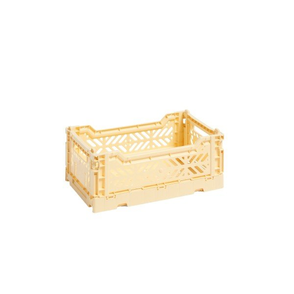 HAY Small Colour Crate (Light Yellow)