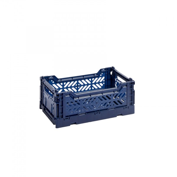 HAY Small Colour Crate (Navy)