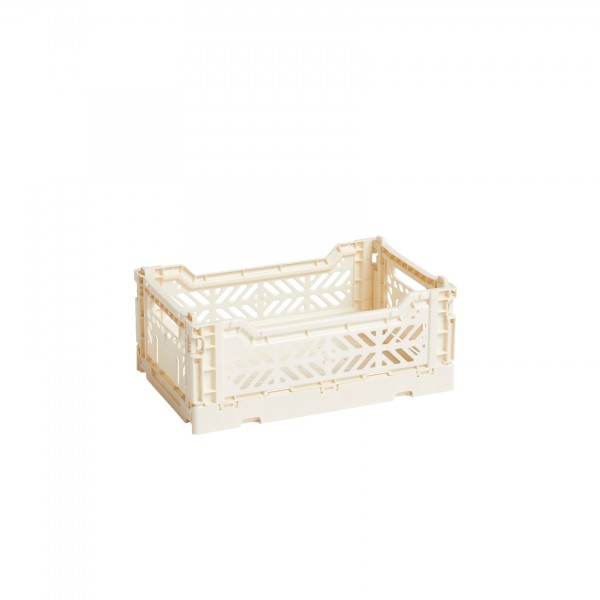 HAY Small Colour Crate (Off White)