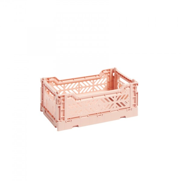 HAY Small Colour Crate (Soft Pink)