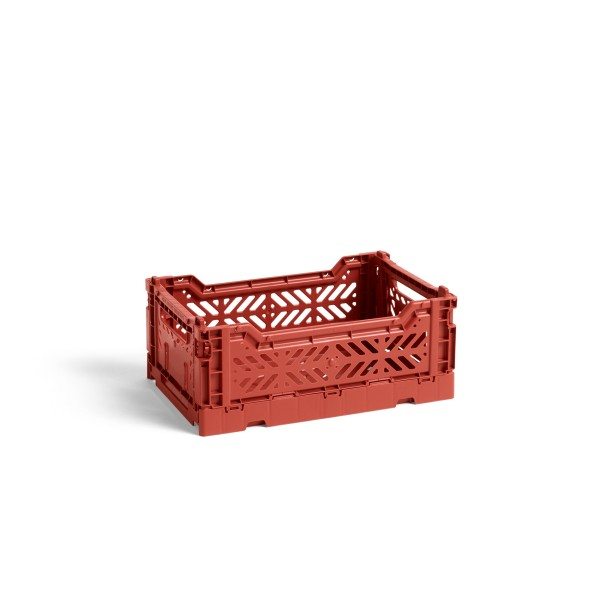 HAY Small Colour Crate (Terracotta)
