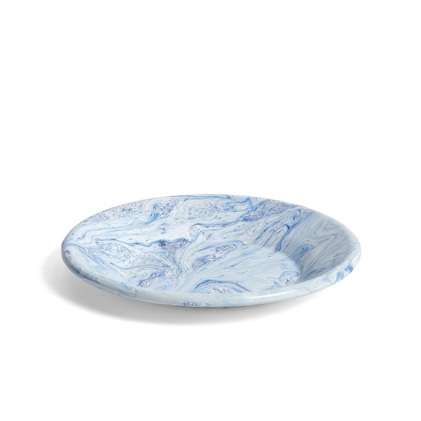 HAY Soft Ice Lunch Plate (Blue)