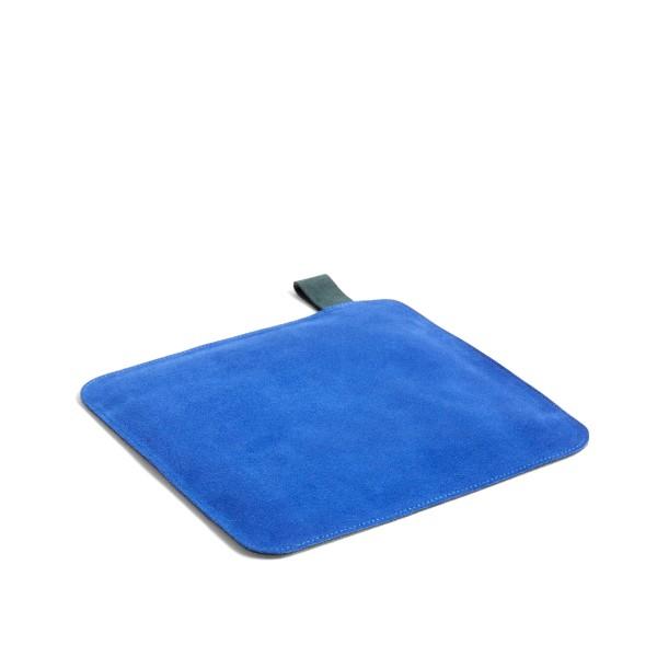 HAY Suede Pot Holder (Blue)