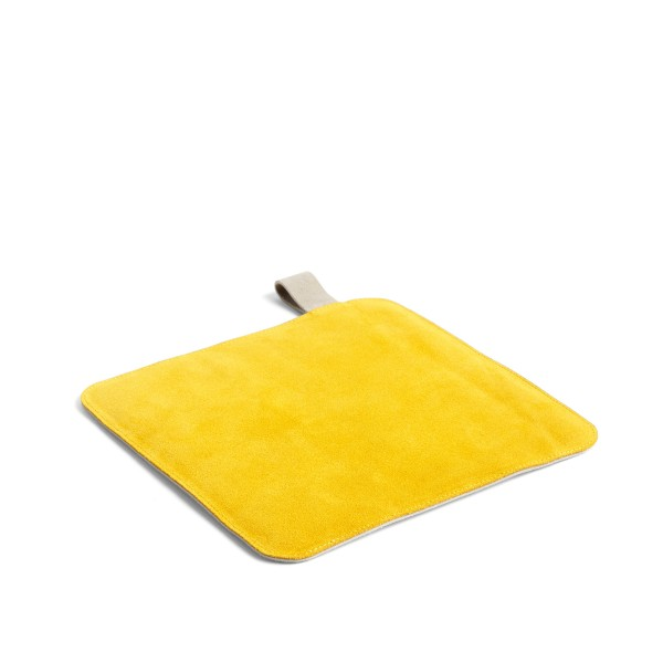HAY Suede Pot Holder (Yellow)