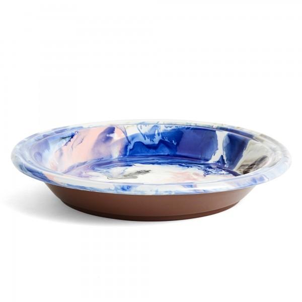 HAY Swirl Bowl (Multi Blue)