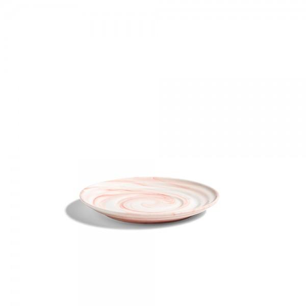 HAY Twist Collection Saucer Medium (Pink)
