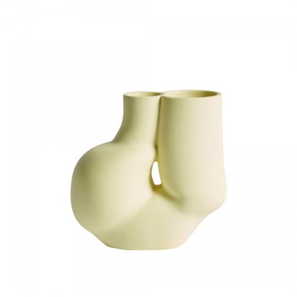 HAY W&S Chubby Vase (Soft Yellow)