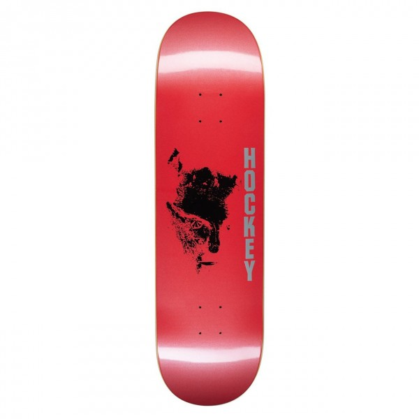"Hockey Chaos Skateboard Deck 8.75"" (Red)"