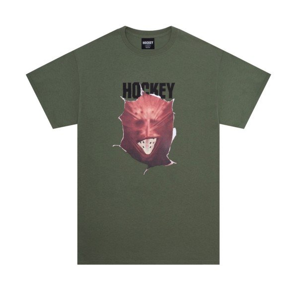 Hockey Fireball T-Shirt (Military Green)