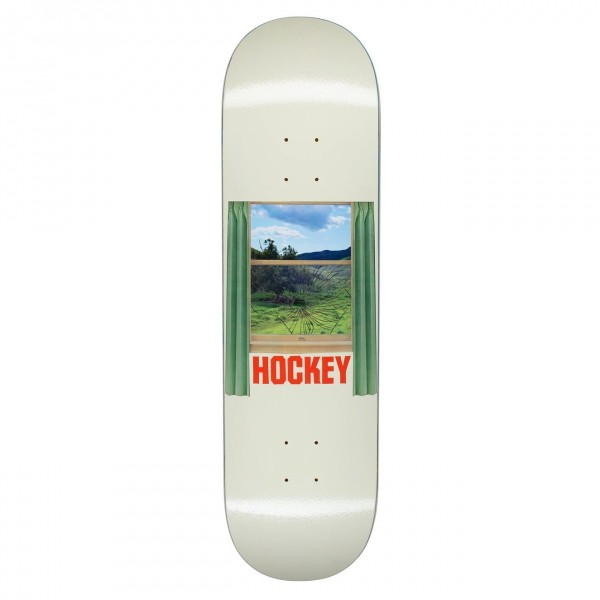 Hockey Looking Glass Skateboard Deck 8.5""