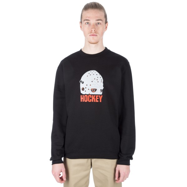 Hockey Mask Crew Neck Sweatshirt (Black)