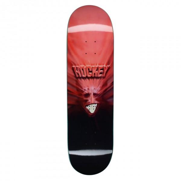 "Hockey Nik Stain Fireball Skateboard Deck 8.25"""