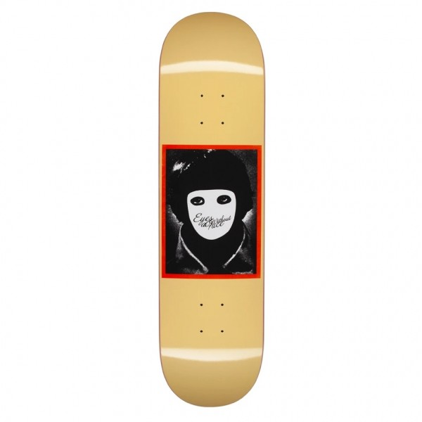 "Hockey No Face Skateboard Deck 8.25"" (Yellow)"