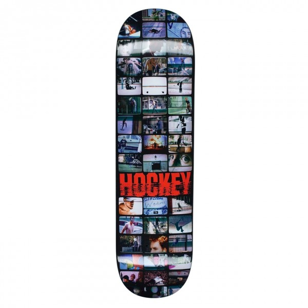 Hockey Screens Skateboard Deck 8.38""