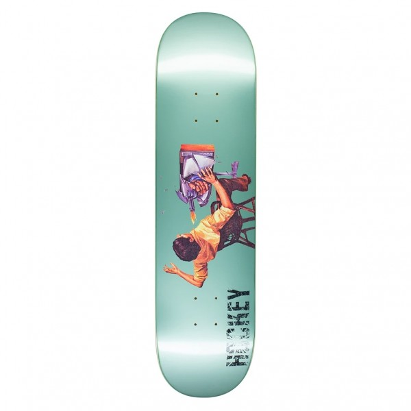 Hockey Ultraviolence Donovon Piscopo Skateboard Deck 8.0""