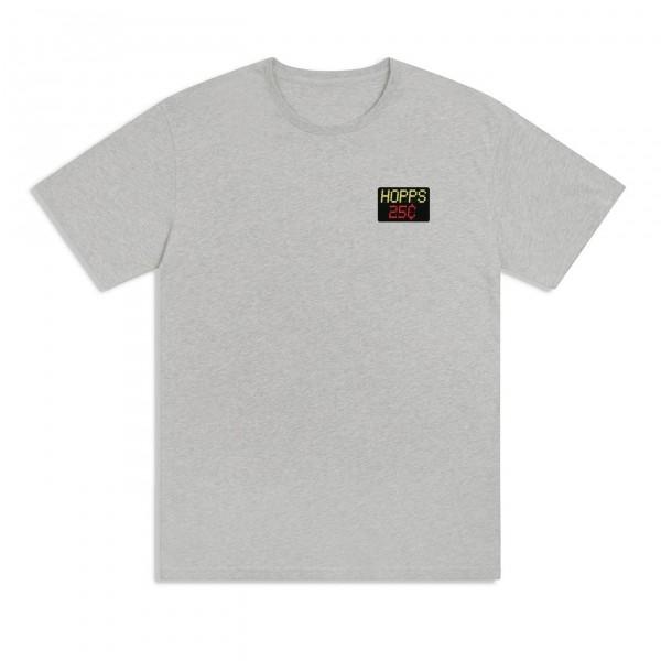 Hopps x Quartersnacks Snackman T-Shirt (Heather Grey)