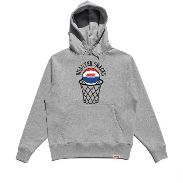 Hopps x Quartersnacks Street Composite Pullover Hooded Sweatshirt (Heather Grey)