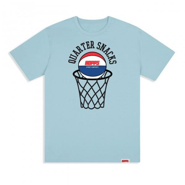 Hopps x Quartersnacks Street Composite T-Shirt (Light Blue)