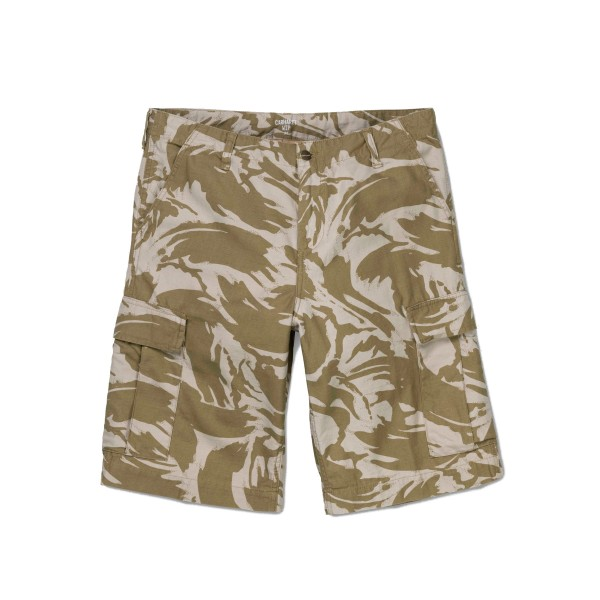 Carhartt Regular Cargo Short (Camo Brush, Sandshell Stone Wash)