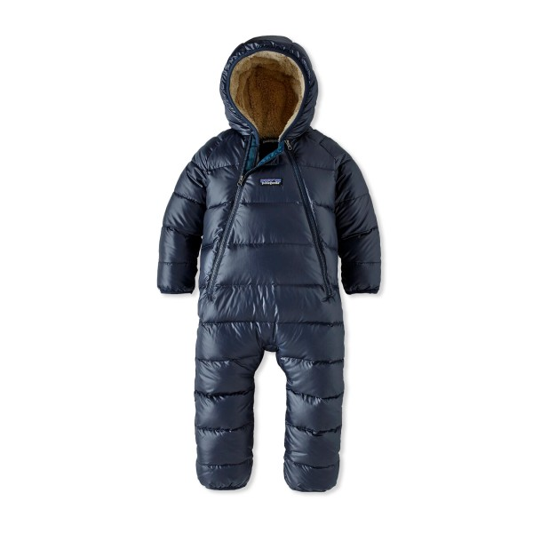 Infant Patagonia Hi-Loft Down Sweater Bunting (New Navy)